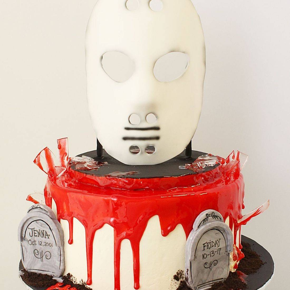 Custom Halloween Mike Meyers Mask  Cakes Milwaukee