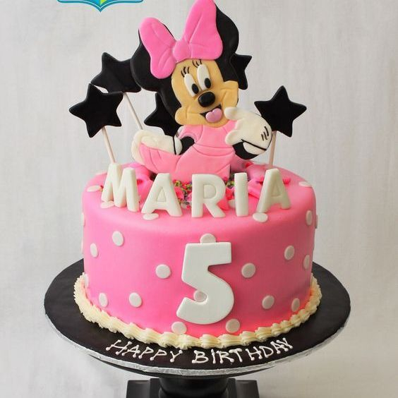 Custom Minnie Mouse Cake Milwaukee