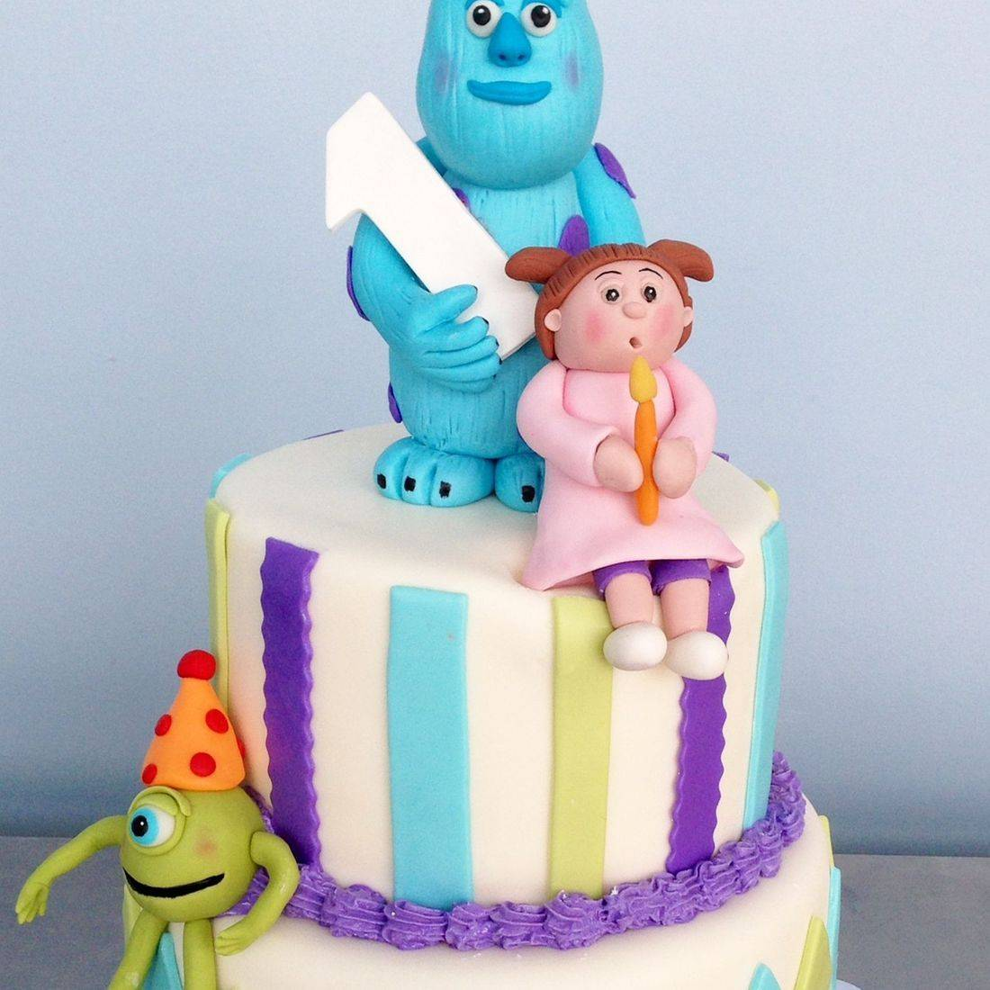 Custom Monsters Inc. Cake  Milwaukee