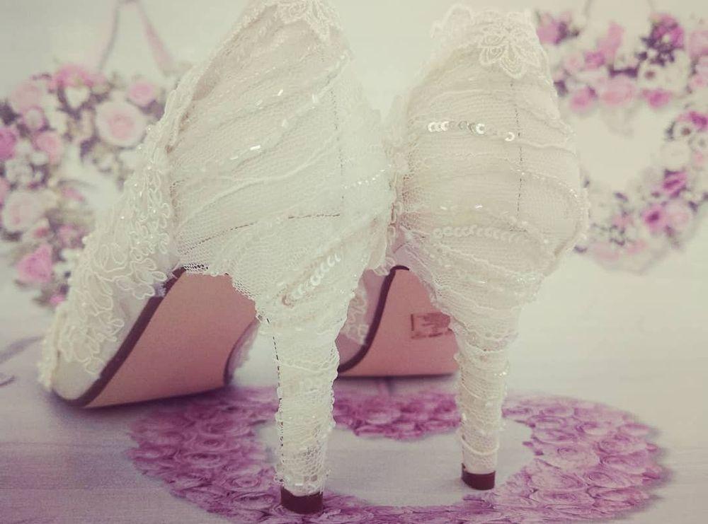 shoe embellishment and customised wedding shoes