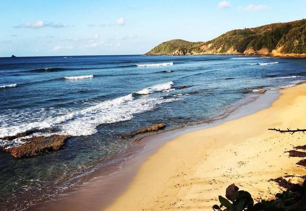 Spot de Surf, Tartane, Martinique