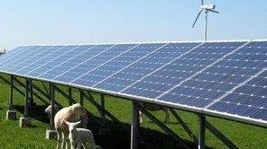 Erneuerbarer Energien - Einsatz von Solarthermie + Photovoltaik