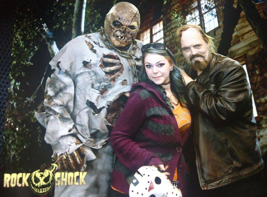 halloween jason vorhees makeup artist director rock and shock convention horror