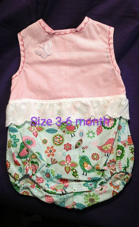 Infant Romper, Baby Clothes, Infant Summer Outfit, Baby Summer