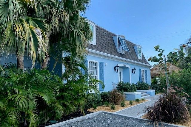 powder blue house