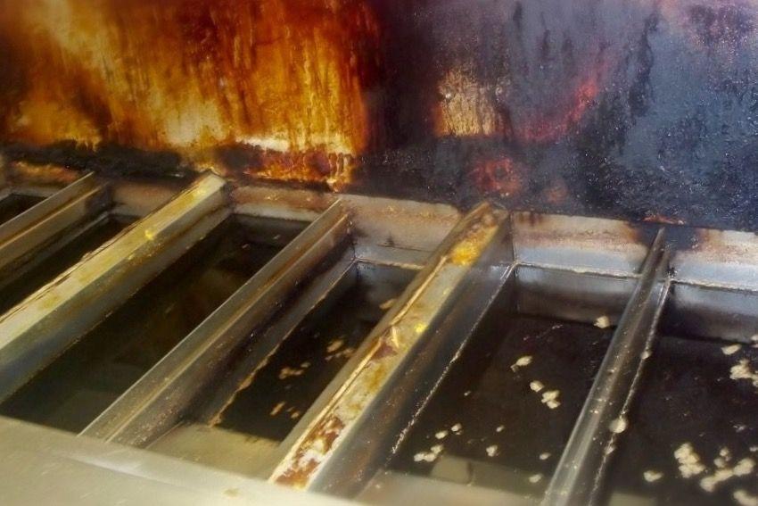 Dirty Deep Fryer