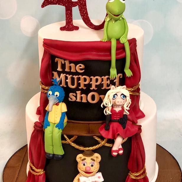 Birthday Cake Muppets
