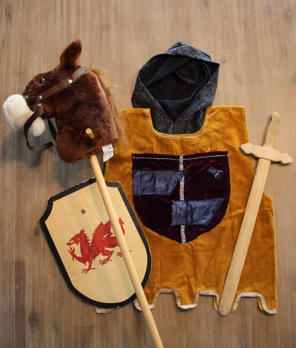 Kinderfeestje ridder ridderkleding
