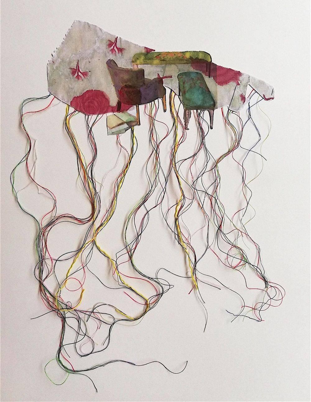 Aquarelle, Textile, Natures mortes, Intérieurs, Histoire de l'art