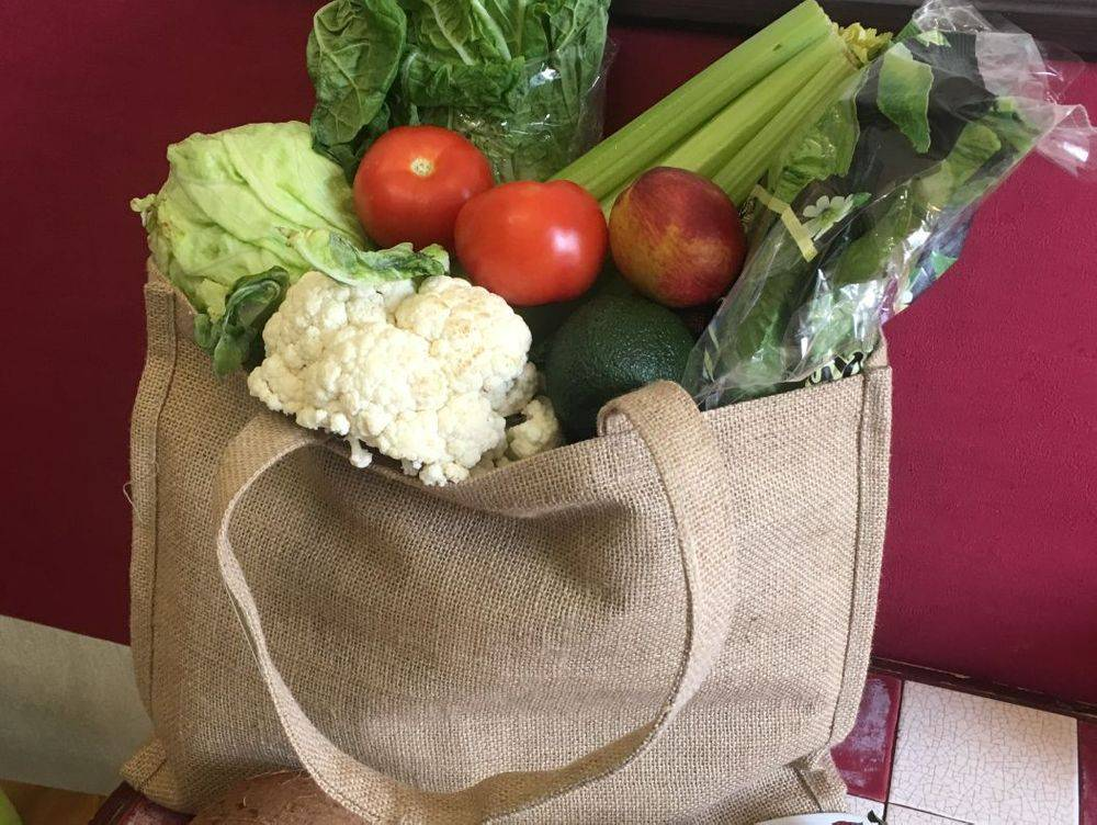 Jute shopping bags in UAE stock