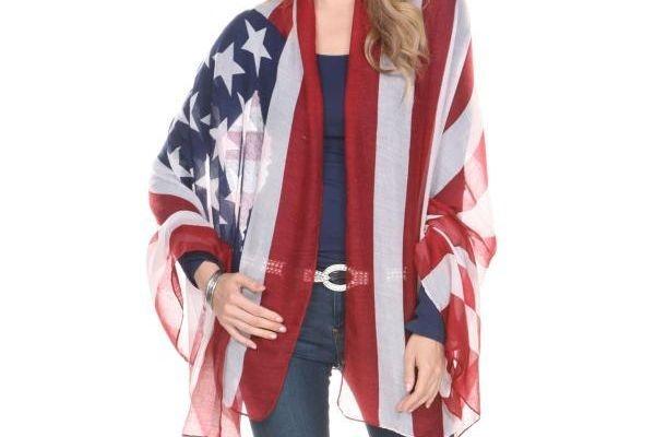 American Flag Legging