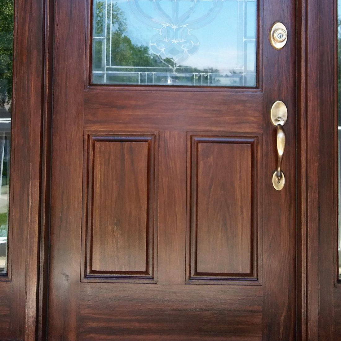 Fiberglass Door Refinishing, door restoration, door repair  Cincinnati Ohio