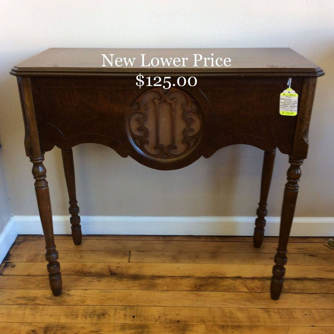 """1920's Newcombe-Hawley Model 81B, Radio Reproducer Speaker Cabinet   31-1/4""""W x 14""""D x 29""""H  """"New Lower Price""""  $125.00"""