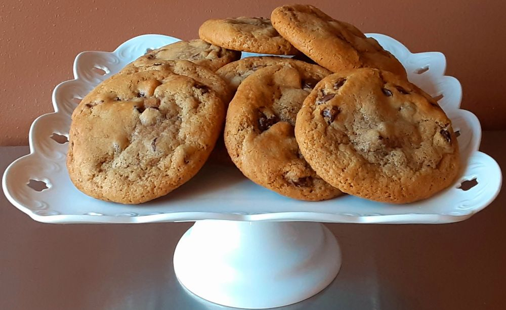 Chocolate chip cookies, gourmet cookies, cookies in racine, filled cookies
