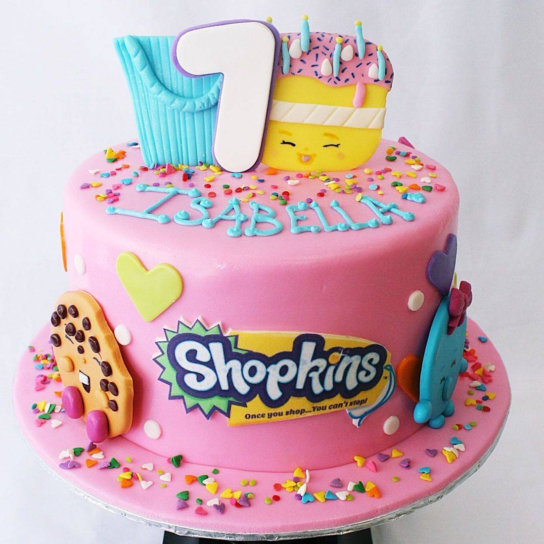 Custom  Shopkins Cake Milwaukee