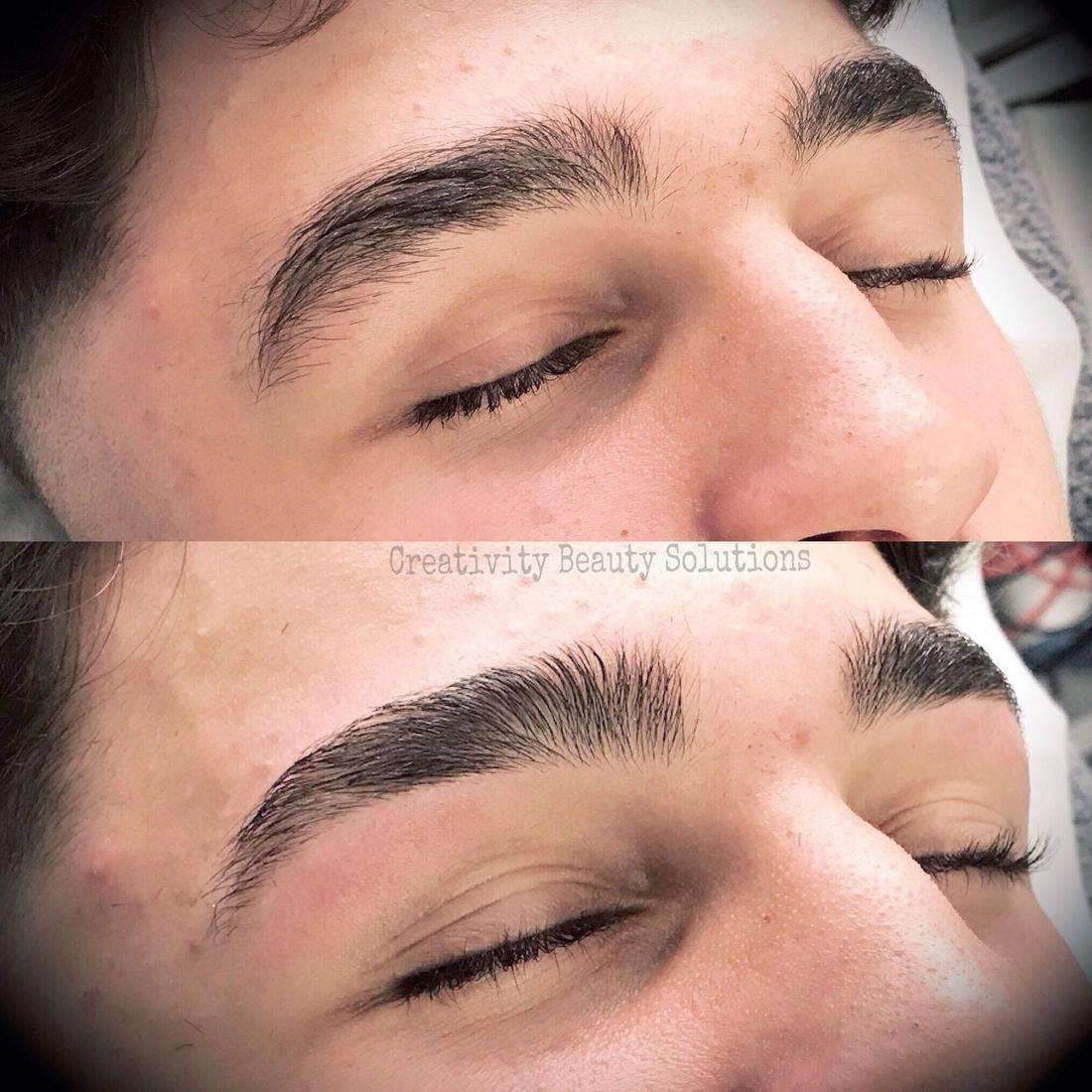 Eyebrow define, brow shape, brow tint, hd brows, eyebrow wax, man brows