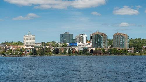 Barrie Ontario waterfront