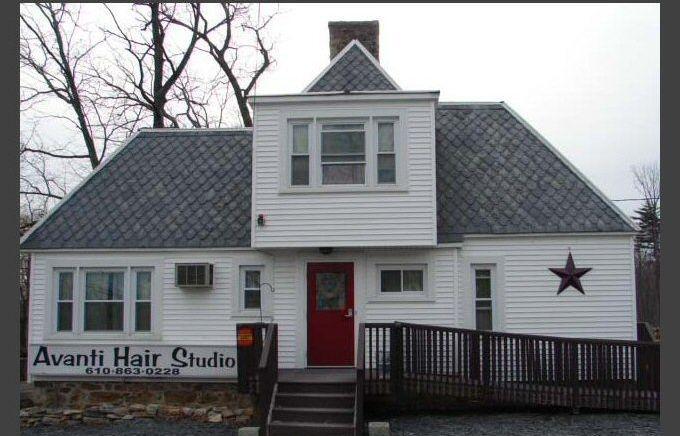 avanti, hair studio, wind gap