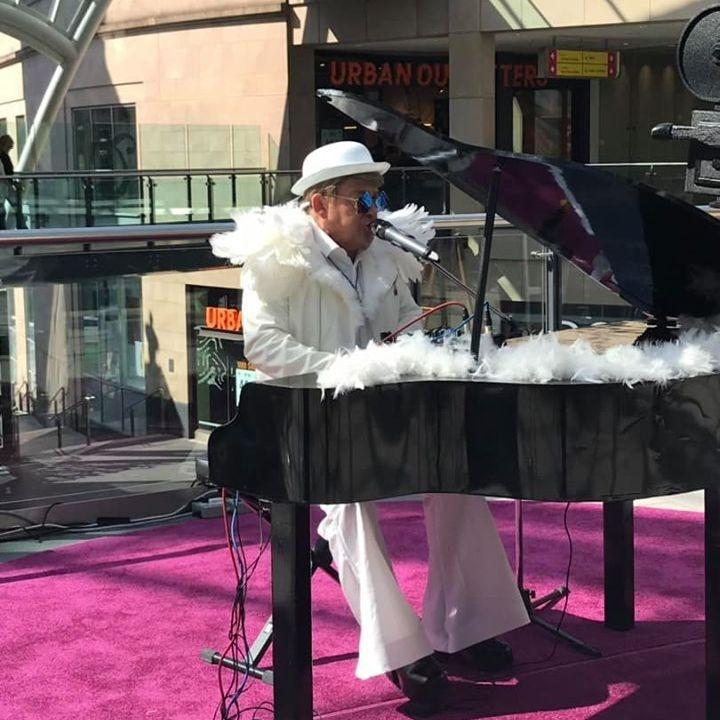 Elton John Tribute act  Andy Crosbie  Rocketman ! tell it to my heart