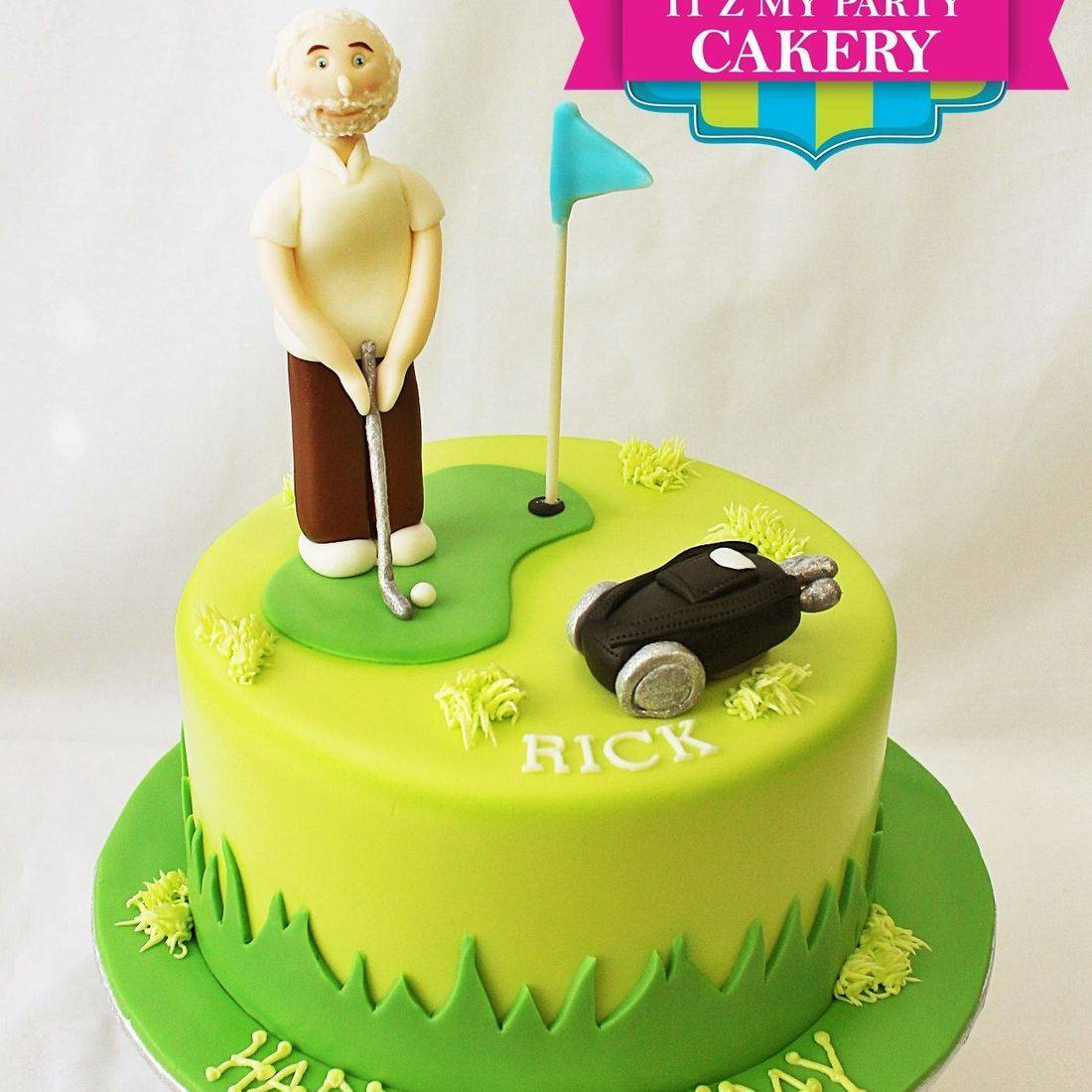Custom Golfer Cakes Milwaukee