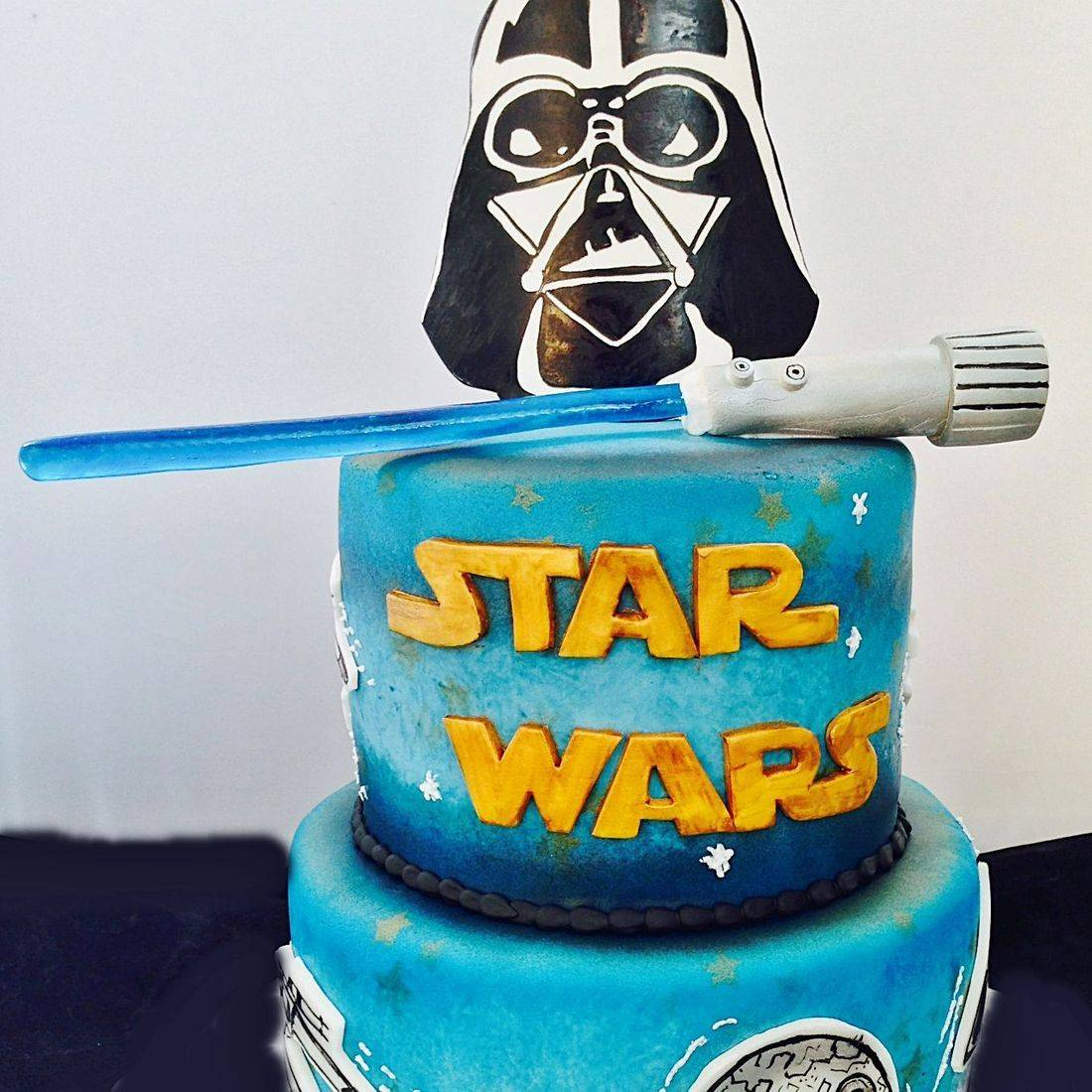 Custom Star Wars Cake Milwaukee