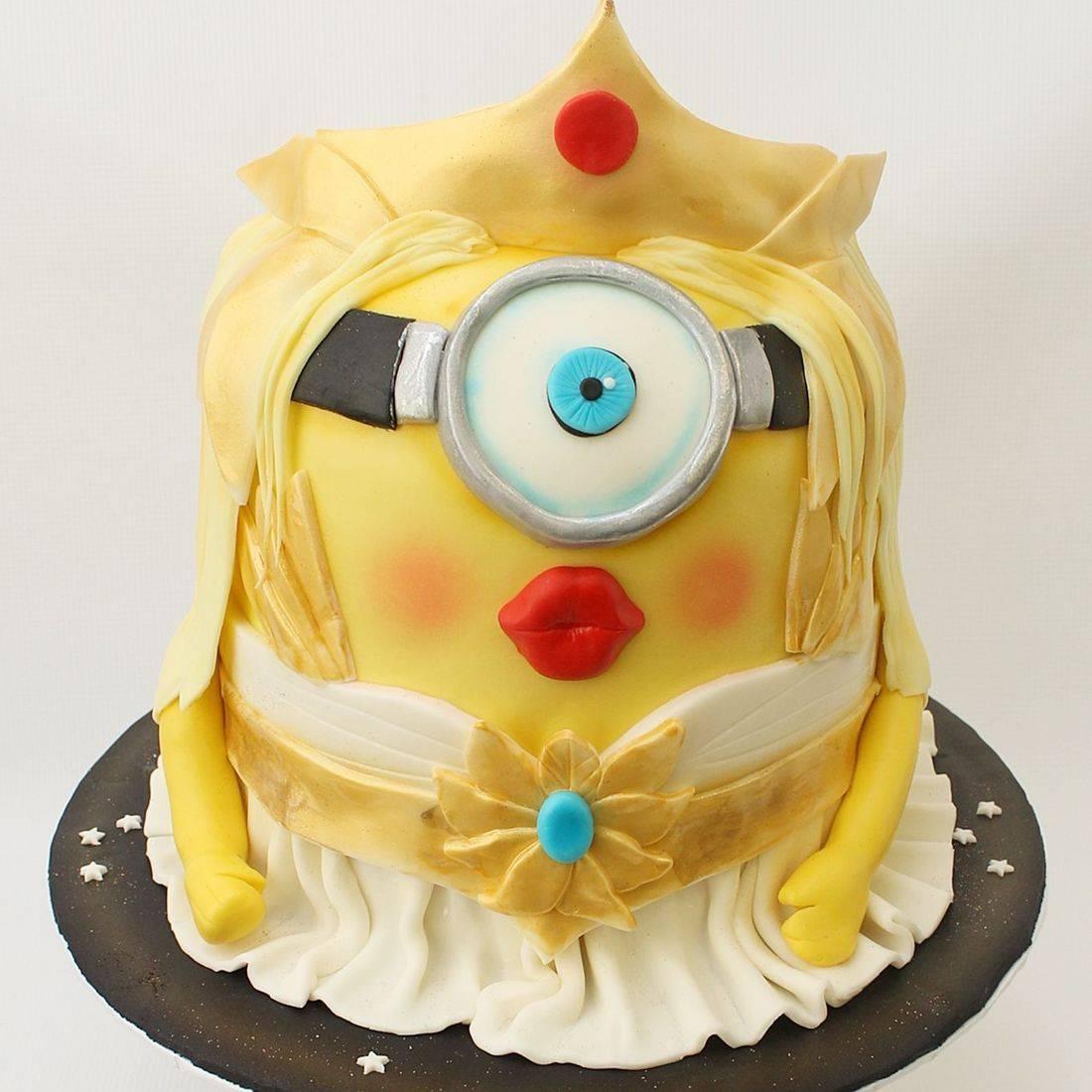 Athena Minion Cake Carved Dimensional Cake Milwaukee