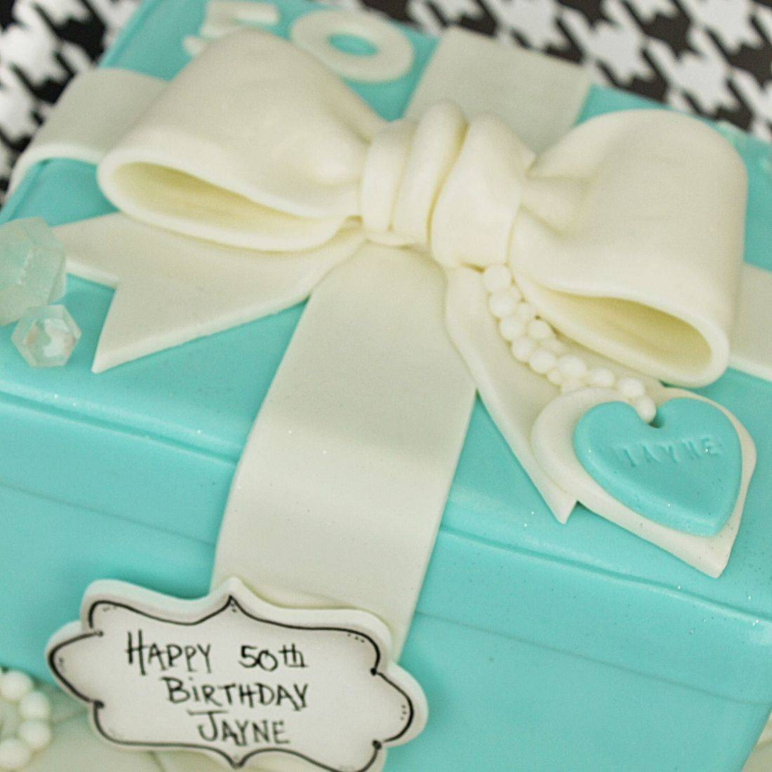 Tiffany Box Cake Carved Dimensional Cake Milwaukee