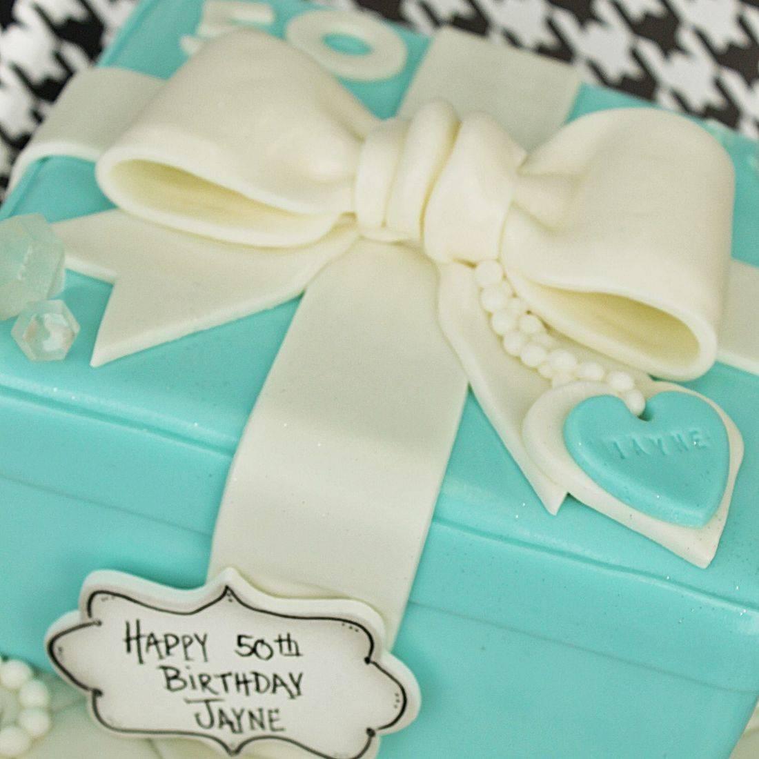 Tiffany Box Cake Carved Dimensional Cake Milwaukee