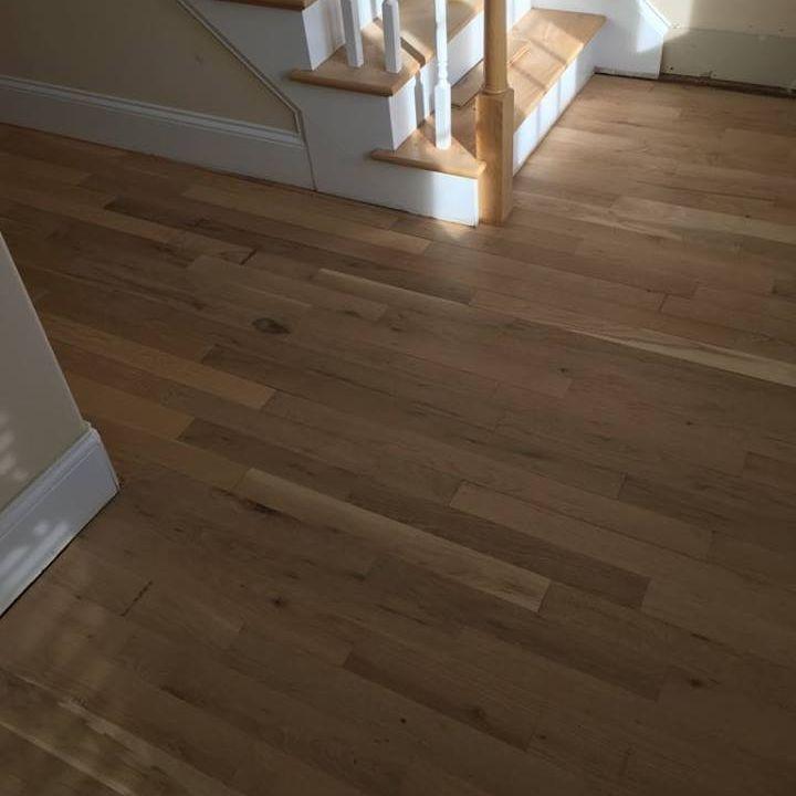 White Oak Install
