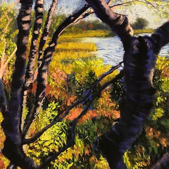 "JJohnson - Sunstruck - Pastels - 23""x31""- $900-"