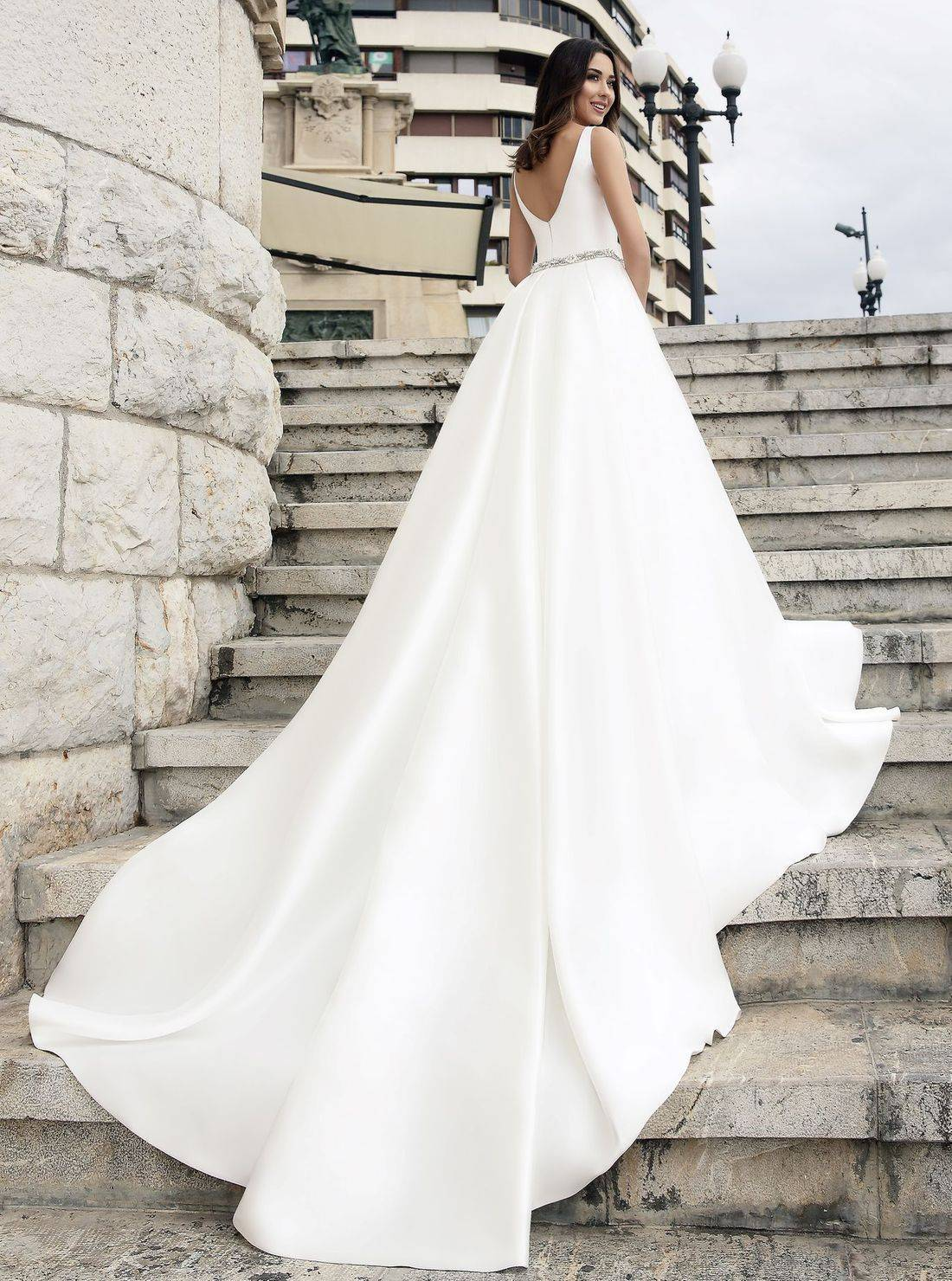 Beach wedding dress,simple wedding dress,modest wedding dress,wedding dresses