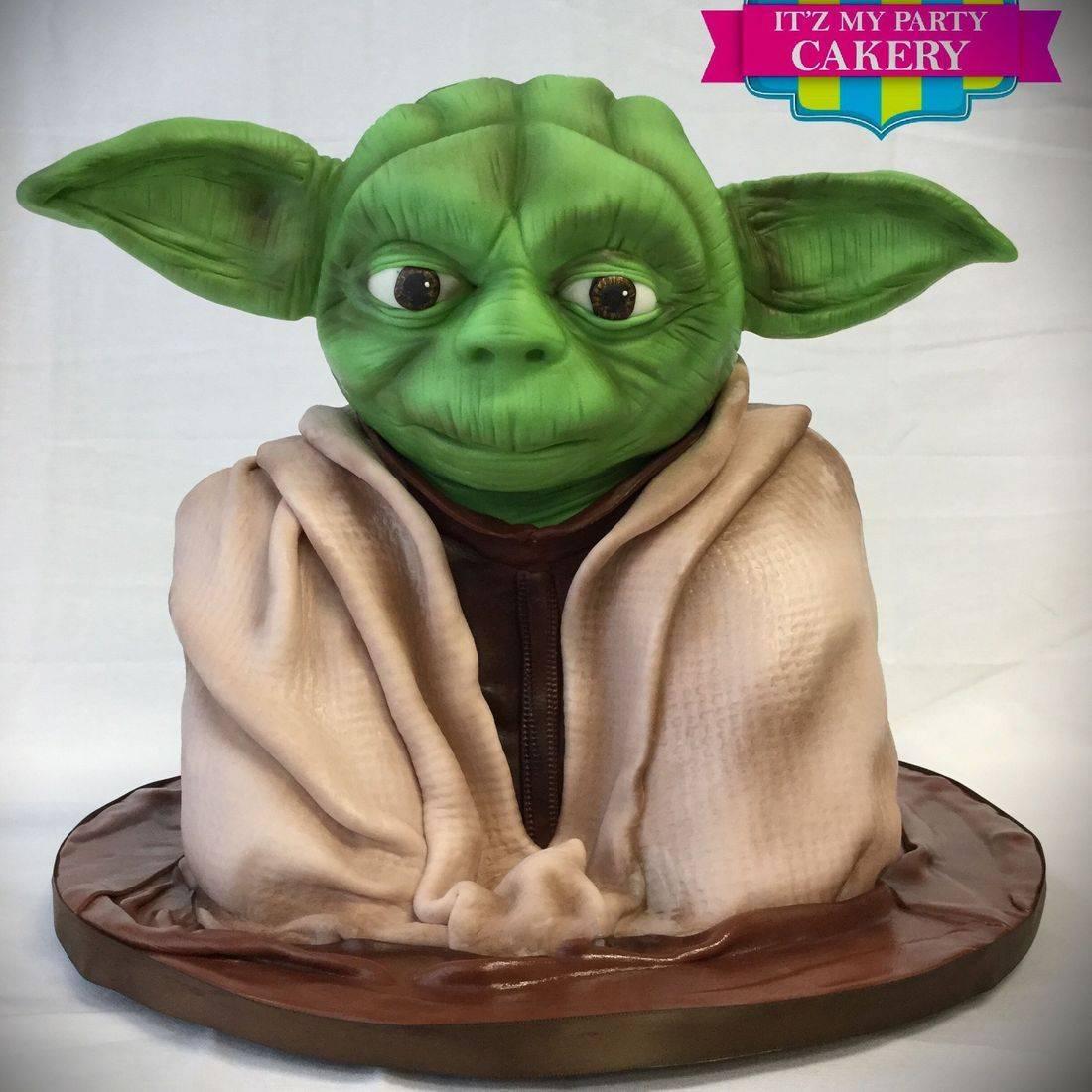 Yoda Star Wars Cake Dimensional Cake Milwaukee