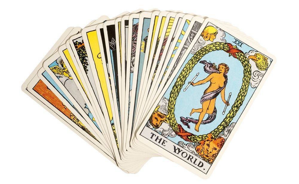 Image: The Rider-Waite tarot deck