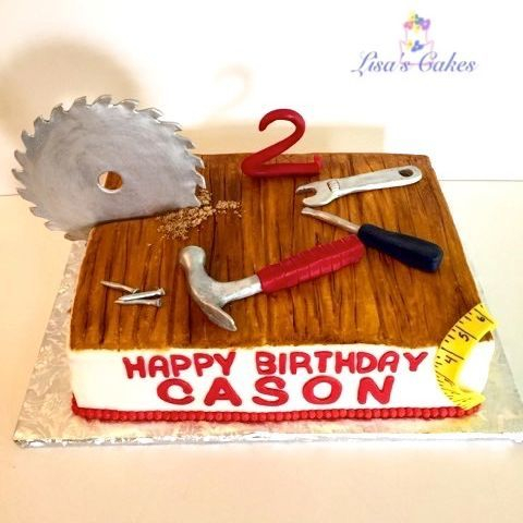 Carpentry Cake