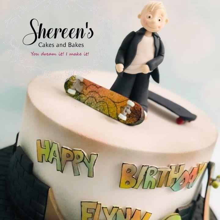 Skateboard Birthday Cake