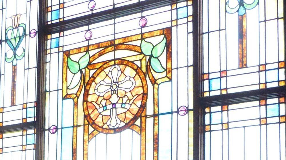 Brooker Baptist Stained Glass Windows