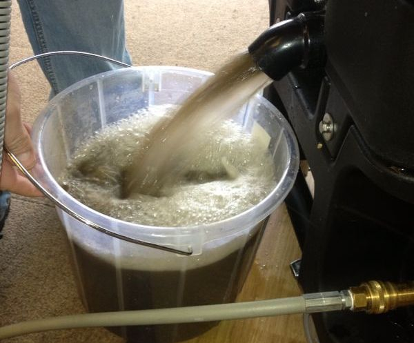 Carpet Cleaning Waste Water
