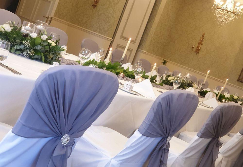 Wedding reception at Careys Manor Hotel Brockenhurst