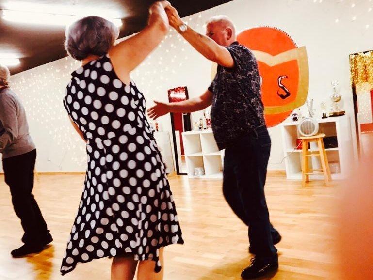 Couple Ballroom and latin Dancing