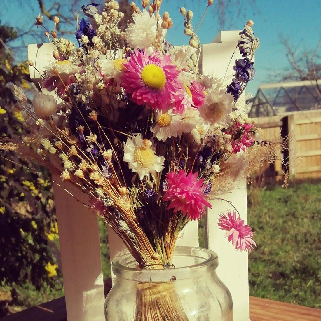 Hand Tied Bouquet Meadow Flowers