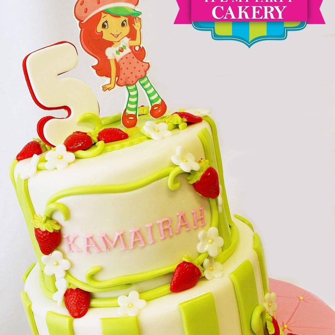 Custom Strawberry Shortcake Cake  Milwaukee