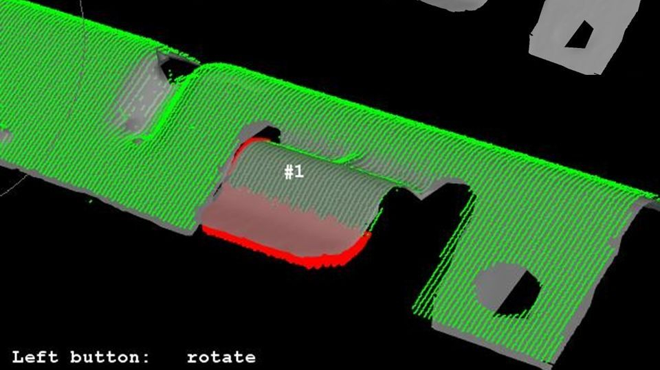 Part to CAD - 3D Surface Inspection & Metrology