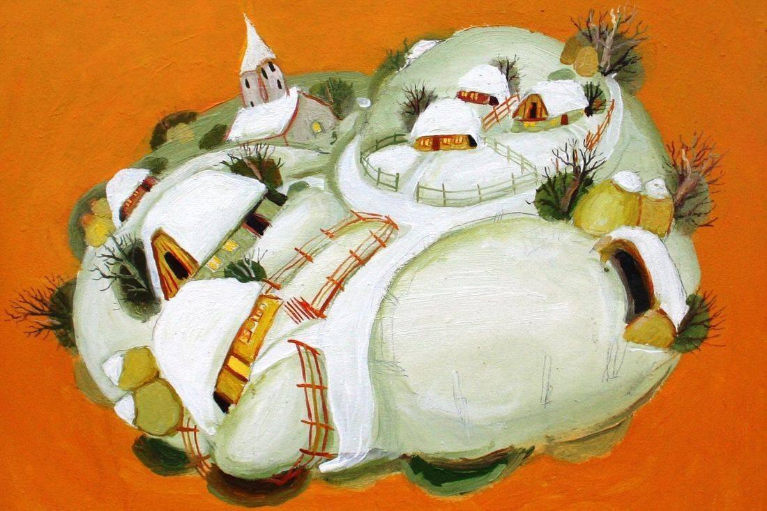 Pictura Naiva Gheorghe Ciobanu