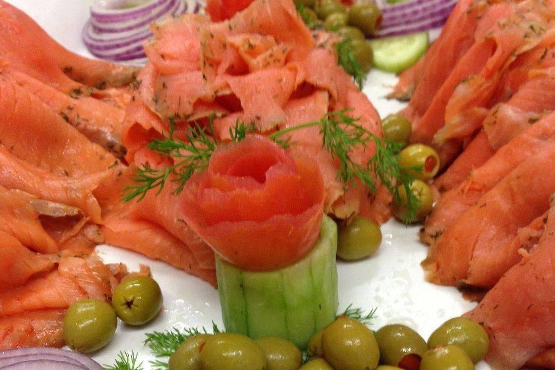 Gravlax Platter