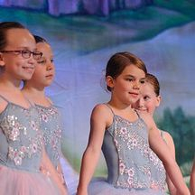 Young dancers display confidence onstage!