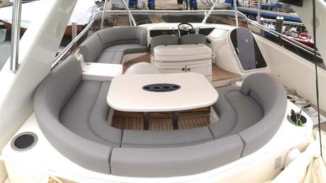 Viking Yachts, Newport Yacht Interiors, Princess yachts, yacht upholstery, flybridge cushions