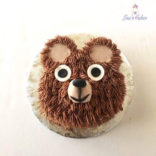 Teddy Bear Smash Cake