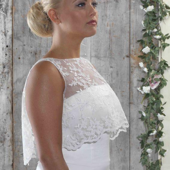 lace bolero, shrug, wedding, bridal coverup,