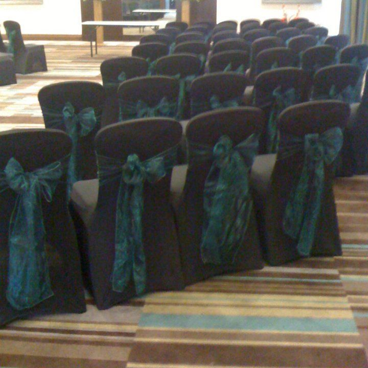 Wedding chair cover hire Edinburgh