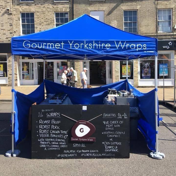 'Gourmet Yorkshire Wraps'